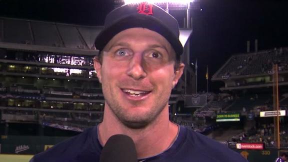 Video - Scherzer On Tigers' Game 1 Win