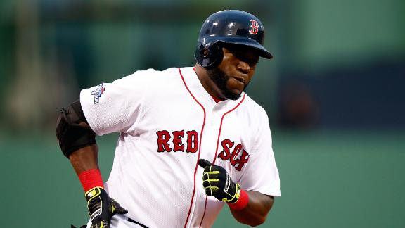 Big Papi belts 2 HRs as Red Sox open 2-0 lead
