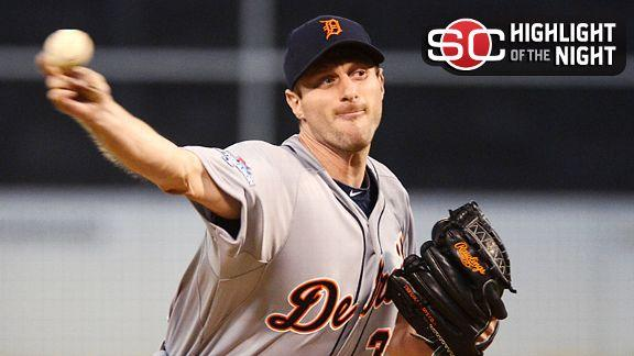 Video - Scherzer Pitches Tigers To Game 1 Win