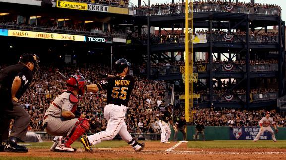 Pirates slip past Cardinals, take NLDS lead
