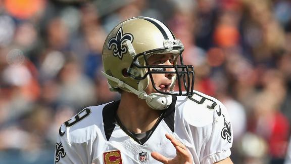 Brees, Saints beat Bears to improve to 5-0