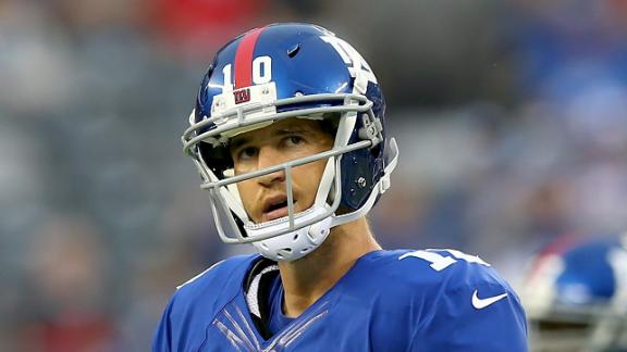 Video - Rough Game For Eli Manning
