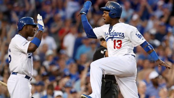 Video - Dodgers All Over Braves In Game 3
