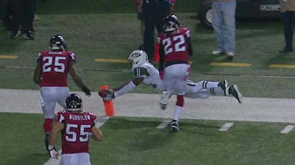 Video - Jets Lead Falcons At The Half