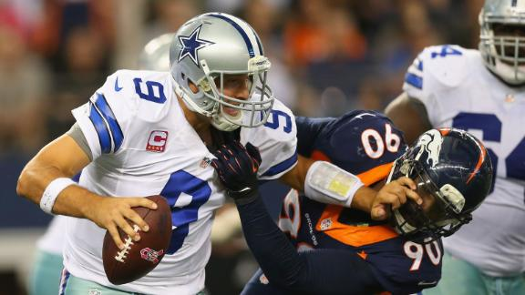 Cowboys rally behind Romo after tough loss