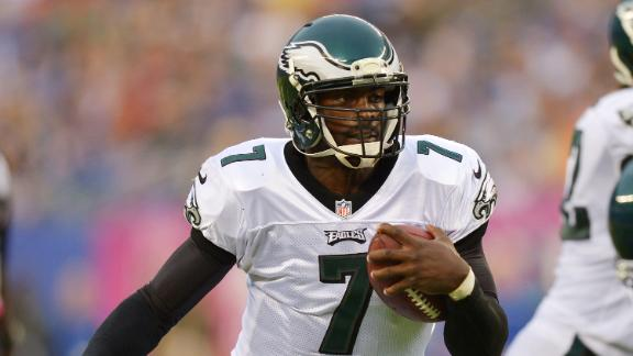 Vick limited participant in Eagles' practice
