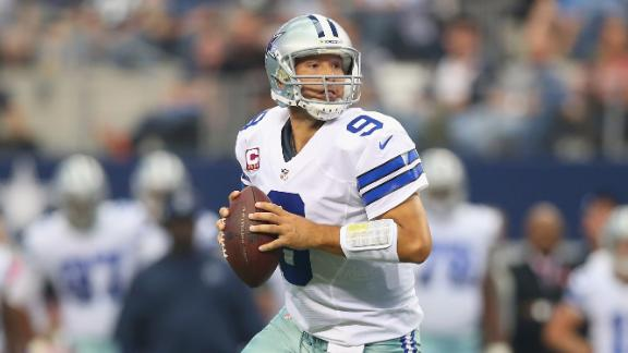 Dallas' Kiffin: Blame me for loss, not Romo