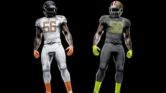 Estos son los nuevos uniformes Nike para el Pro Bowl