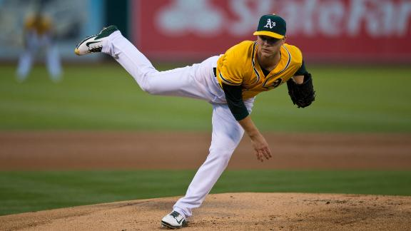 Video - A's Turn To Rookie Sonny Gray