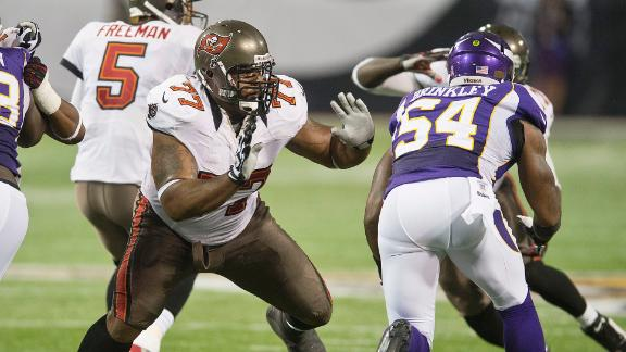Third Bucs player tests positive for MRSA