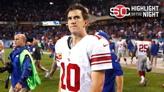 O'Connor: Eli's charmed world is falling apart