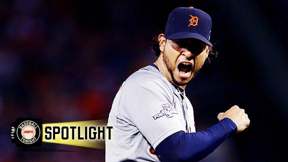 Video - Tigers Take No-Hitter Into 9th, Win Game 1