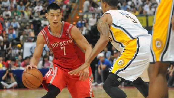 Lin dazzles as Rockets win Taiwan exhibition