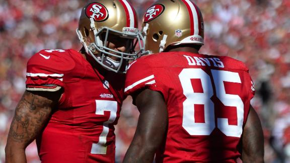 Davis' big day fuels 49ers' 3rd straight win