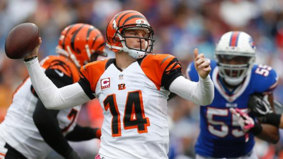 Bengals beat Bills on Nugent's OT field goal