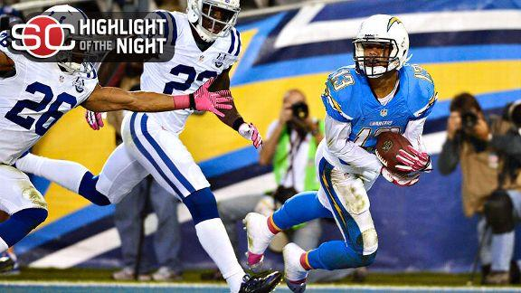 Video - Chargers Control Colts