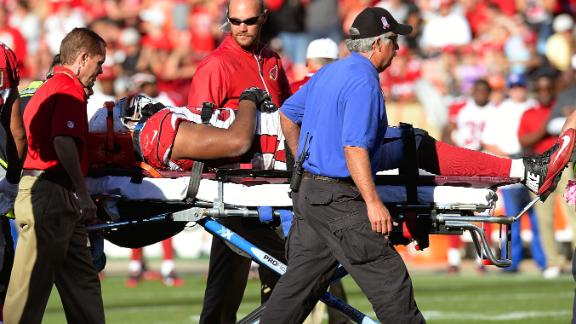 Calais Campbell active, four days after he was stretchered off …