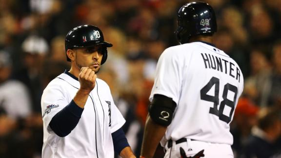 Jackson-led Tigers thump Red Sox, tie ALCS