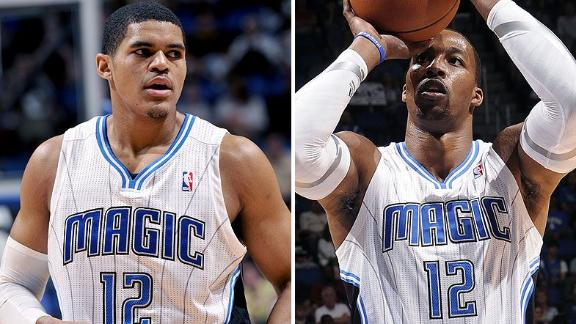 Howard 'upset' Magic letting No. 12 be worn