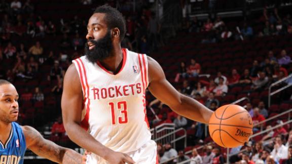 Video - Harden Paces Rockets Past Magic