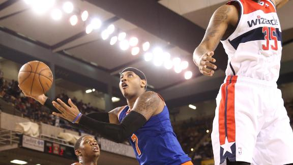 Video - Melo Powers Knicks Past Wizards