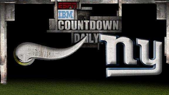Video - Countdown Daily Prediction: MIN-NYG