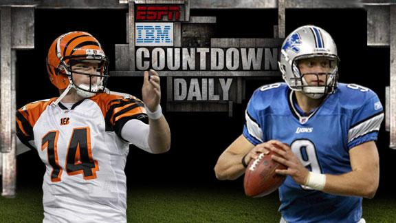 Video - Inside Edge: Bengals-Lions