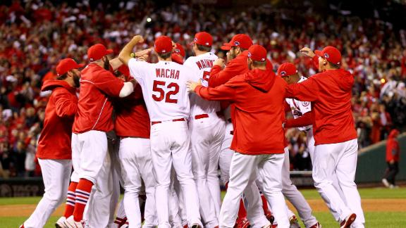 Video - Cardinals Advance To World Series
