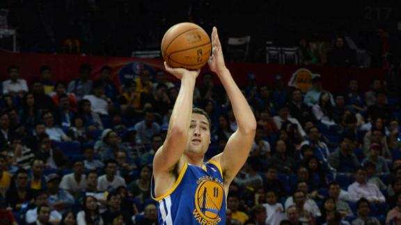 Reports: Back spasms KO Warriors' Bogut