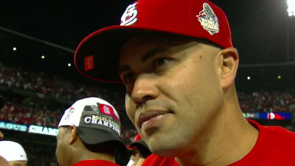 Video - Beltran Advances To First World Series