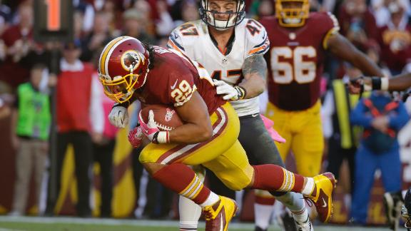 Roy Helu, Jr., Redskins vs. Bears, 2013