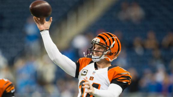Video - Dalton, Bengals Outduel Lions