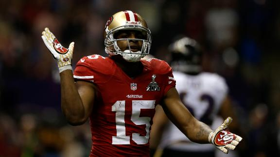 Source: Niners expect Crabtree in late Nov.