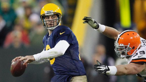 Video - Rodgers, Packers Top Browns