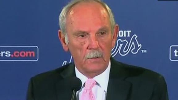 Video - Emotional Leyland Steps Down
