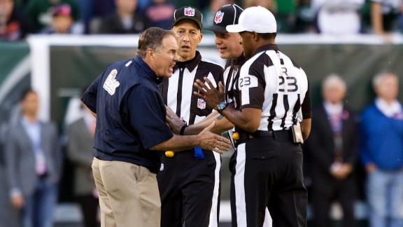 Source: Jets tipped refs on Patriots' FG push