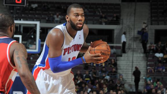 Video - Monroe Leads Pistons Past Wizards