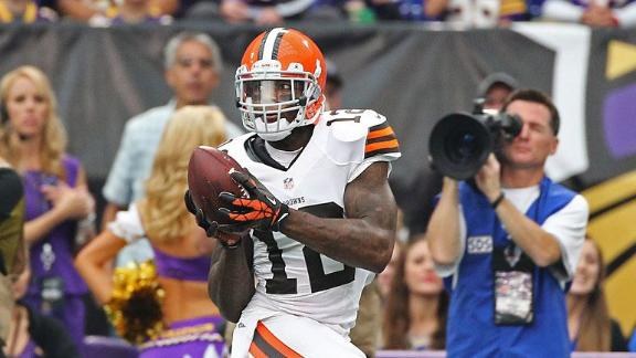 Browns WR Gordon 'tired' of trade rumors
