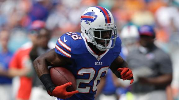 Spiller listed as doubtful, but Bills hopeful