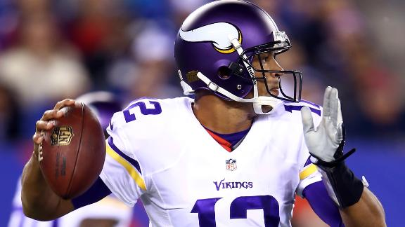 Freeman still Vikes' QB despite dud of debut