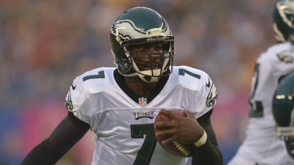 Vick to test hamstring with 100-yard dash