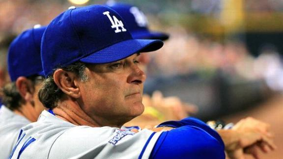 Dodgers say Mattingly to return another year