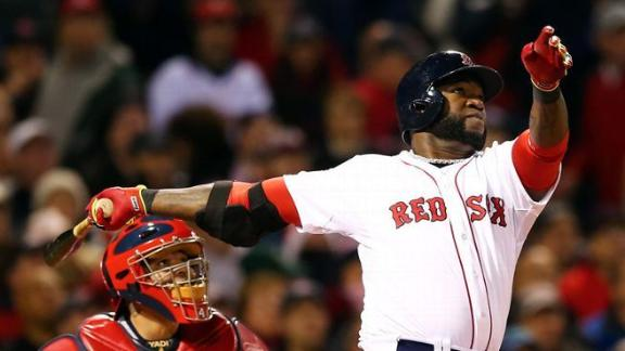 Red Sox rout error-prone Cards in Game 1