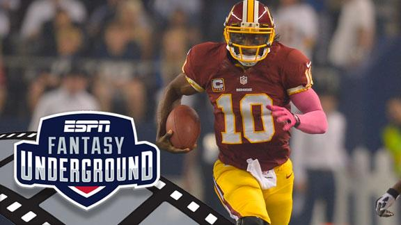 RG III: NFL will see less drop-back passers