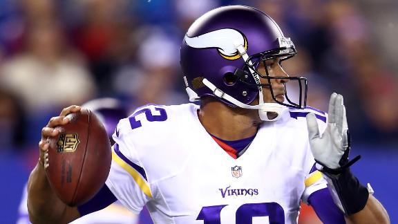 Ponder likely Vikes QB; Freeman concussed?
