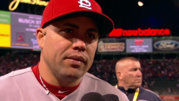 Video - Beltran Plays In Game 2