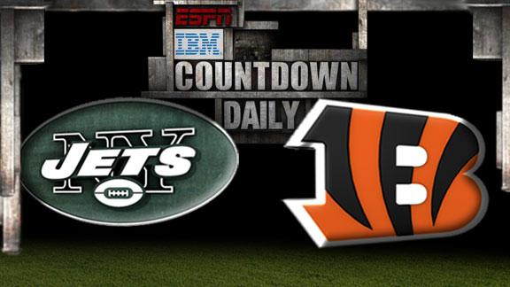 Video - Countdown Daily Prediction: NYJ-CIN