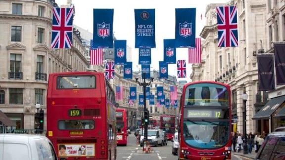 NFL names teams to play in London in 2014