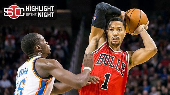 Video - Rose Leads Bulls Past Thunder