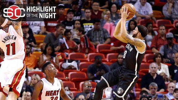 Williams returns to Nets, scores 11 vs. Heat